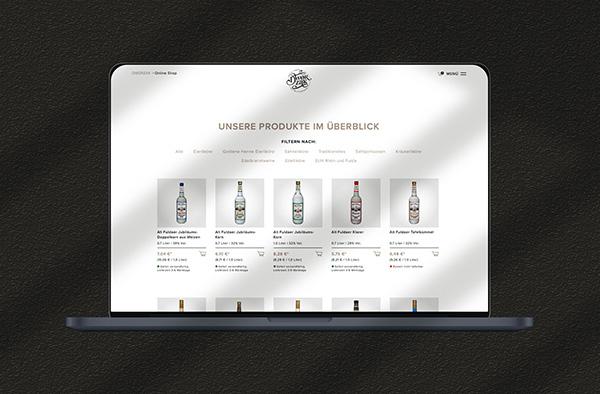 Online-Shop Design