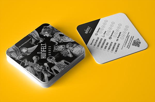 Bierdeckel-Design